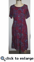Eagle Ray Traders Carol Dress #6 Size Large
