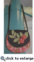 Rising Tide Felted Saddle Bag 515J