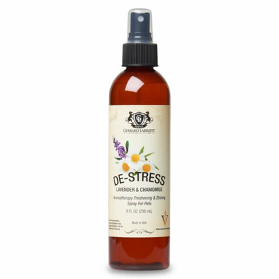 De-stress Lavender & Chamomile Aromatherapy Freshening & Shining Spray For Pets