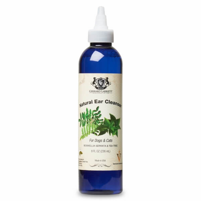Natural Ear Cleanser for Dogs & Cats