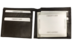 Billfold W/ Flip I.D.<br/><b>Colors - Black & Brown</b>