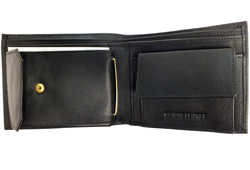 Billfold With Coin Pocket<br/><b>Colors - Black & Brown</b>