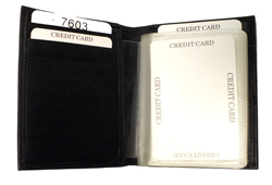 Credit Card Holder<br/><b>Colors - Black & Brown</b>