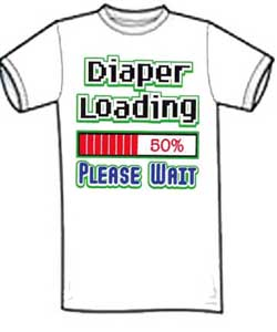 Diaper Loading T-Shirt