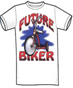 Future Biker Kid's Shirt