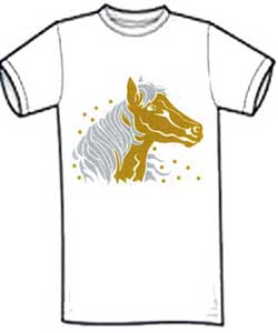 Horse Shirt For Kid's