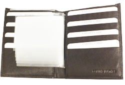 King Hipster Billfold<br/><b>Colors - Black & Brown</b>