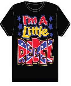 Little Rebel Kid's Shirt