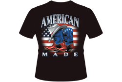 Men's American Made Cowboy Shirt<br/> <b>Color - Black </b><br/>ITEM# men9866