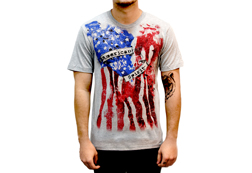 Men's American Spirit American Made T-Shirt<br/><b>Available in Heather</b><br/>ITEM # 6482