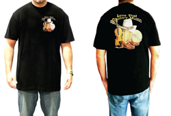 Men's Country Music Shirt<br/> <b>Color - Black </b>