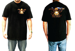 Men's Ghost Rider Shirt<br/> <b>Color - Black </b>