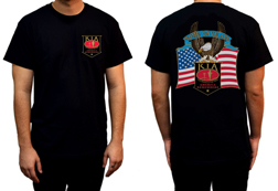 Men's KIA America Remembers Shirt<br/><b>Available in Black</b><br/>ITEM # CS1062