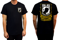 Men's POW/MIA Some Still Give Shirt<br/><b>Available in Black</b><br/>ITEM # CS1015