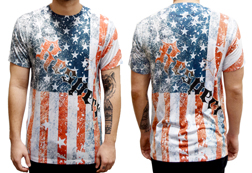 Men's Respect the Flag American Made T-Shirt<br/>ITEM # 6483