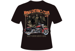Men's Riding Club Shirt <br/> <b>Color - Black </b><br/>ITEM# men7930