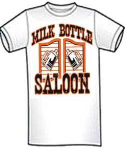 Milk Bottle Saloon T-Shirt