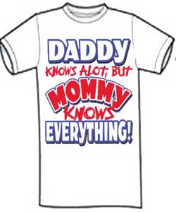 Mommy Knows Everything Shirt