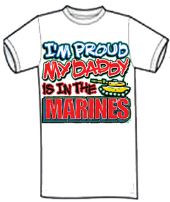 My Daddy Is In The Marines