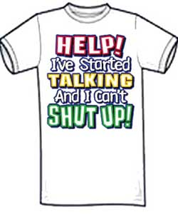 Can't Stop Talking Kid's Shirt