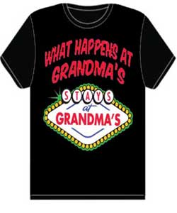 What Happens At Grandma's Stays T-Shirt