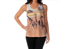Women's Giraffes on the Savannah Tank Top<br/>ITEM # 7579