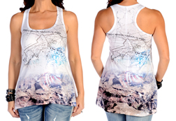 Women's Grand Canyon Tank Top<br/><b>Available in White</b><br/>ITEM # 7538