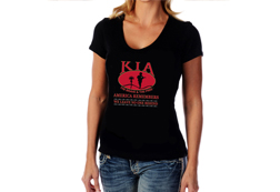 Women's KIA America Remembers Top<br/><b> Color - Black</b><br/>ITEM# CS2597