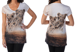 Women's Short Sleeve Pride on the Savannah Top<br/>ITEM # 7476