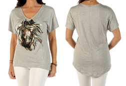 Women's Trusted Friend Loose Fit Short Sleeve Top<br/><b>Available in Heather</b><br/>ITEM # 7834