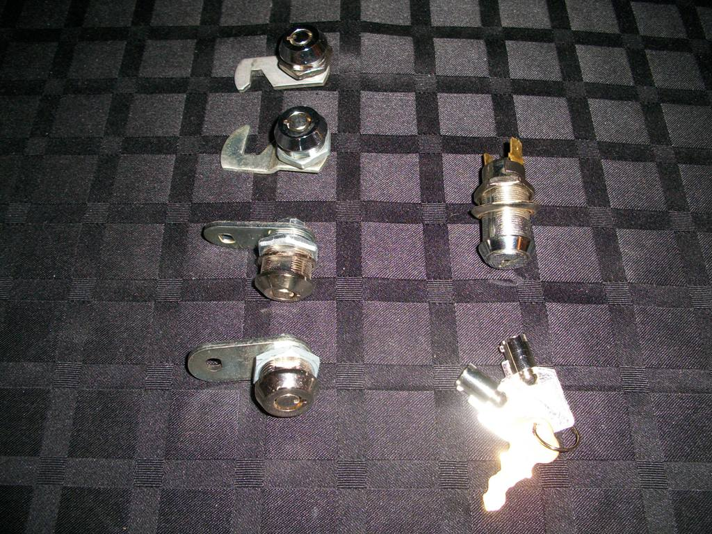 Bally Alpha Complete Cabinet Lock Set