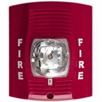 SecureGuard 1080P 36 hrs Battery Powered WiFi Fire Alarm Strobe Light Spy Camera