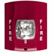 SecureGuard Battery Powered Fire Alarm Strobe Light Spy Camera