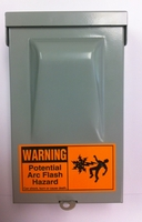 SecureGuard Battery Powered Power Electrical Utility Box Spy Camera