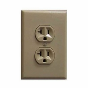 SecureGuard Battery Powered Power Outlet Receptacle Spy Camera (Beige)