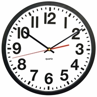 SecureGuard Battery Powered Wall Clock Spy Camera