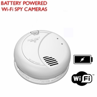 Wi-Fi Spy Cameras (Battery Powered)