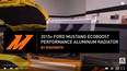 2015+ Ford Mustang EcoBoost Performance aluminium Radiator Features and Benefits