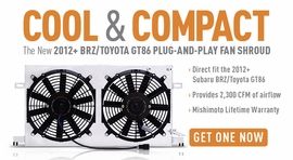 Cool & Compact - The New 2012+ BRZ/GT86 Plug-and-Play Fan Shroud