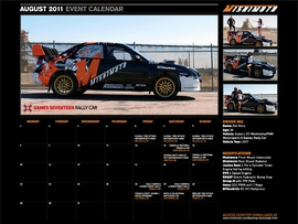 Download the FREE August 2011 Calendar Featuring Pat Moro!
