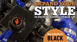 Expand Your Style: WRX/STI Expansion Tank Now in Black!