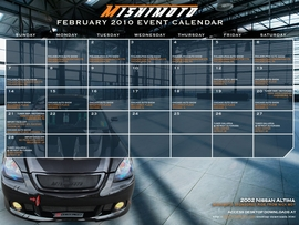 Free February 2010 Calendar Now Available