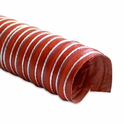 """Heat Resistant Silicone Ducting, 2"""" x 12'"""