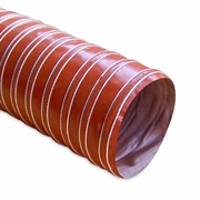 """Heat Resistant Silicone Ducting, 3"""" x 12'"""