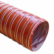 """Heat Resistant Silicone Ducting, 4"""" x 12'"""