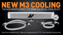 Keep Your M3's Oil Running Cool!