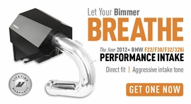 Let Your Bimmer Breathe � The New 2012+ BMW F22/F30/F32 Performance Intake!