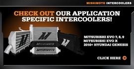 Mishimoto Releases Application Specific Intercoolers!