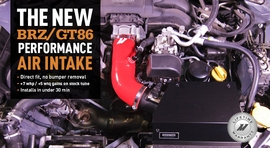 More Horsepower, No Bumper Removal: The New BRZ/GT86 Performance Air Intake