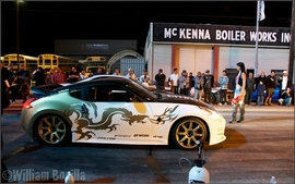 """Photos on the set of """"Born to Race"""" movie"""